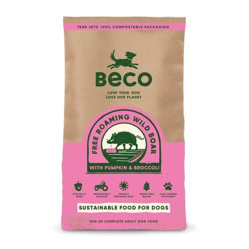 Beco Szabadban élő vaddisznóhús sütőtökkel és brokkolival 2 kg
