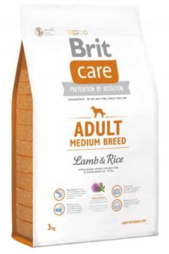 BRIT CARE HYPOALLERGENIC ADULT MEDIUM BREED LAMB & RICE 1 kg