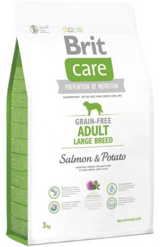 Brit Care Grain Fee Adult Large Breed Salmon & Potato 1 kg