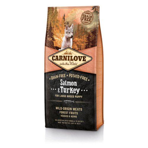CarniLove Puppy Large Salmon & Turkey - Lazac és Pulyka 1,5 kg