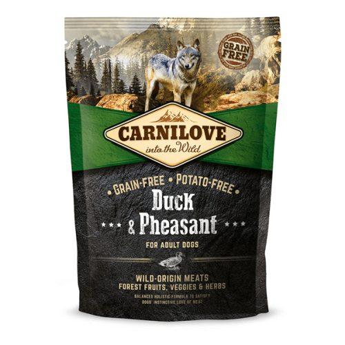CarniLove Adult Duck & Pheasant - Kacsa és Fácán 1,5 kg
