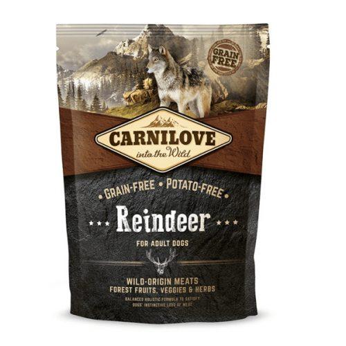 CarniLove Adult Reindeer - Rénszarvas 1,5 kg