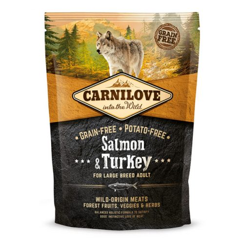 CarniLove Adult Large Salmon & Turkey - Lazac - Pulyka 1,5 kg