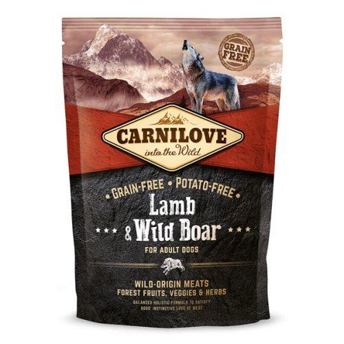 CarniLove Adult Lamb & Wild Boar - Bárány és Vaddisznó 1,5 kg