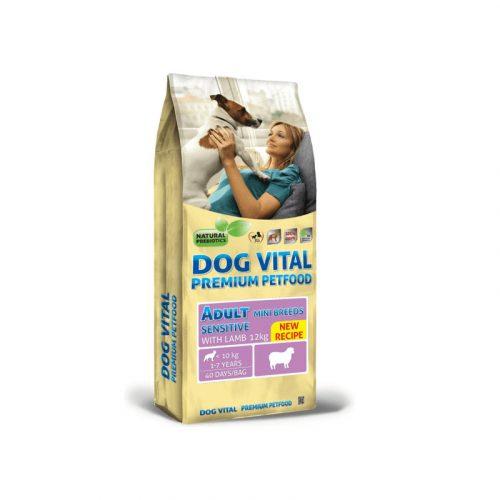 Dog Vital Adult Sensitive Mini Breeds Lamb 12 kg