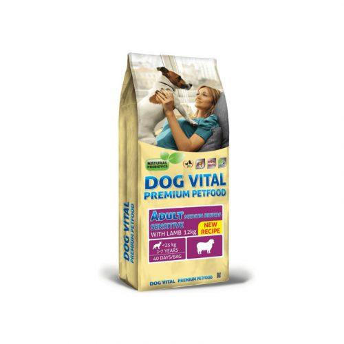 Dog Vital Adult Sensitive Medium Breeds Lamb 12 kg