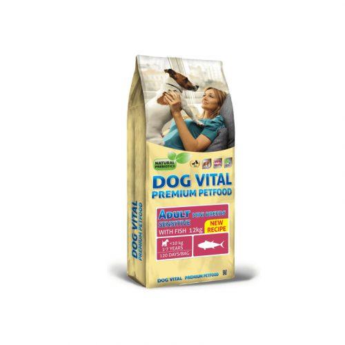 Dog Vital Adult Sensitive Mini Breeds Fish 12 kg
