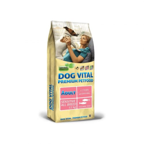 Dog Vital Adult Sensitive All Breeds Fish 12 kg
